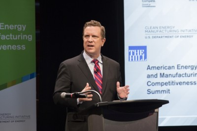 ssistant Secretary for Energy Efficiency & Renewable Energy David Danielson introduces new efforts during the American Energy and Manufacturing Competitiveness Summit in Washington, DC